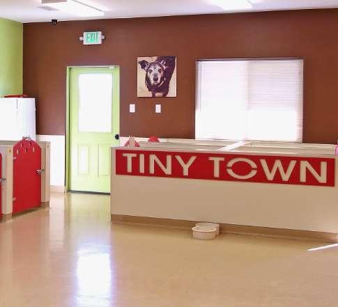 Tiny Town desk